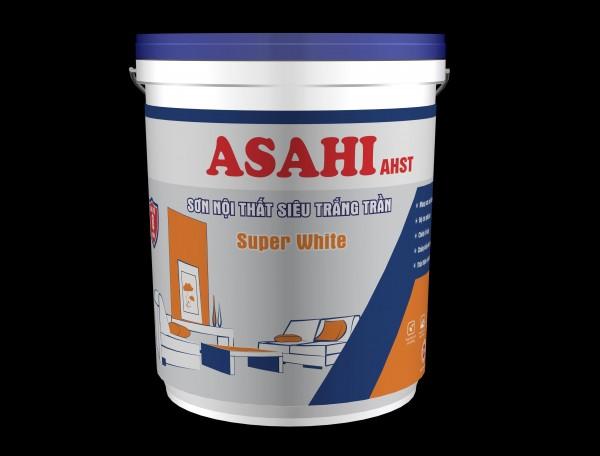 Sơn siêu trắng trần Asahi