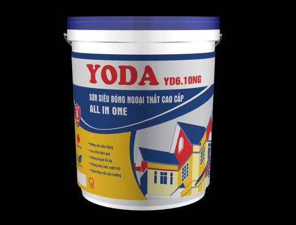 Sơn siêu bóng ngoại thất cao cấp Yoda