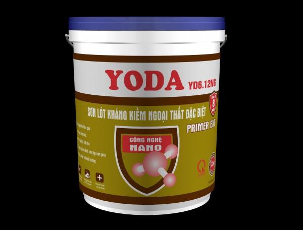 Sơn lót kháng kiềm ngoại thất, công nghệ Nano Yoda