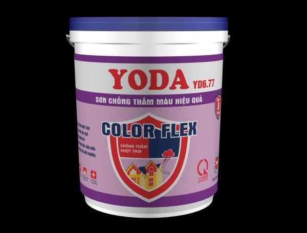 Sơn chống thấm màu hiệu quả Yoda